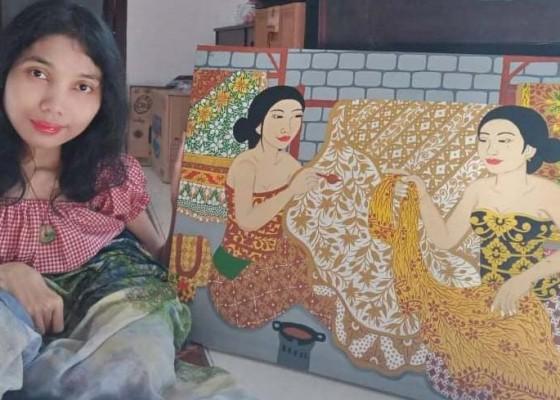 Nusabali.com - lelang-lukisan-disumbangkan-ke-warga-terdampak-covid-19