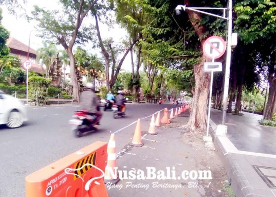 Nusabali.com - ppkm-darurat-pendapatan-pd-parkir-merosot-tajam