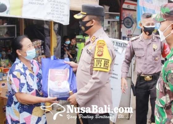 Nusabali.com - sehari-polres-bangli-sebar-1000-paket-sembako