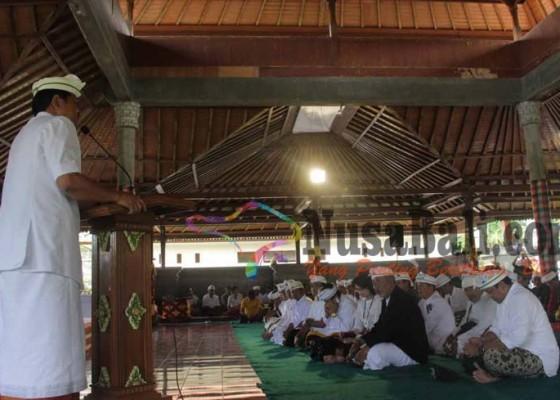 Nusabali.com - atap-wantilan-pura-besakih-keropos-dan-bocor