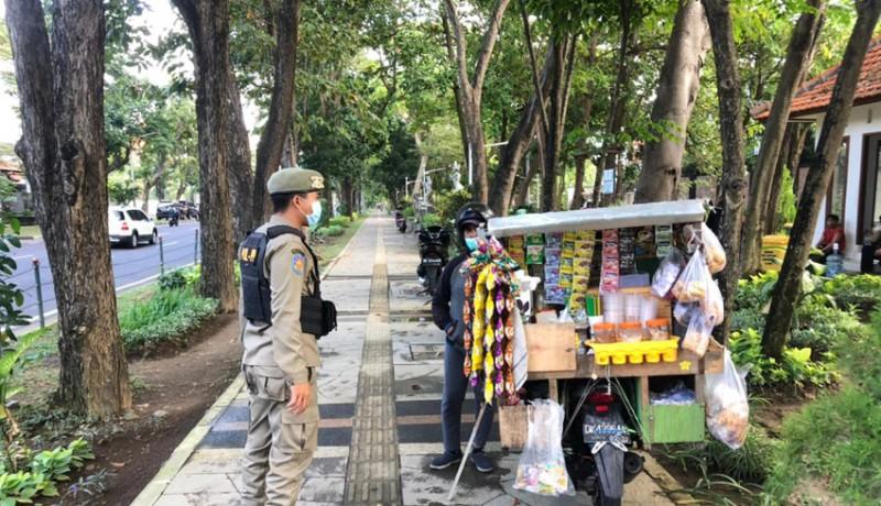 www.nusabali.com-ppkm-level-3-penegakan-prokes-digencarkan-di-denpasar