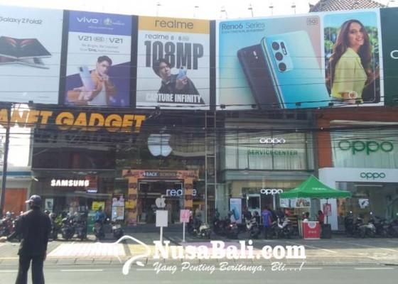 Nusabali.com - ppkm-level-3-sektor-bisnis-denpasar-kembali-menggeliat