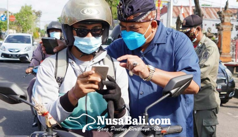 www.nusabali.com-gencarkan-razia-jaring-55-warga-belum-vaksin