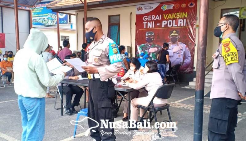www.nusabali.com-polres-kebut-vaksinasi-presisi