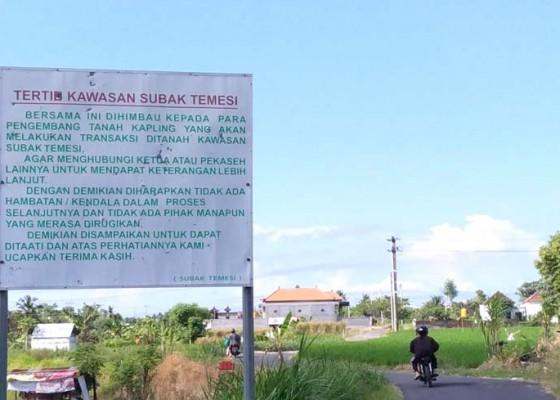 Nusabali.com - plang-tertib-kawasan-subak