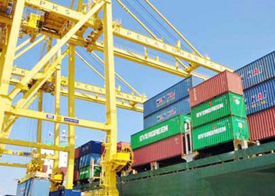 Nusabali.com - kontainer-langka-ekspor-bali-turun