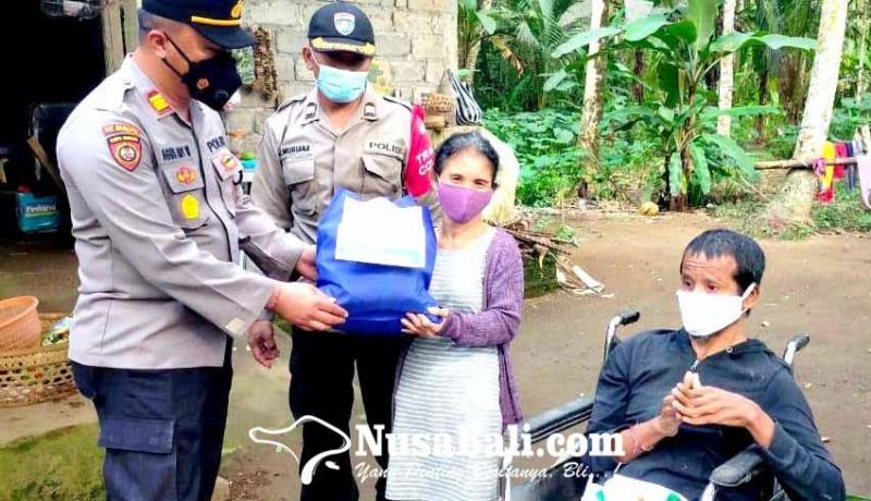 www.nusabali.com-bagi-paket-sembako-sentuh-penyandang-disabilitas-dan-anak-yatim