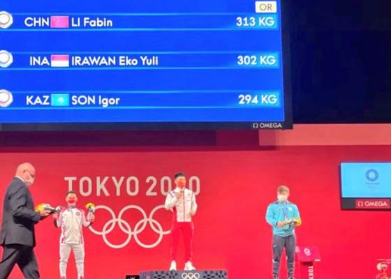 Nusabali.com - olimpiade-tokyo-eko-yuli-irawan-sumbang-perak-untuk-indonesia