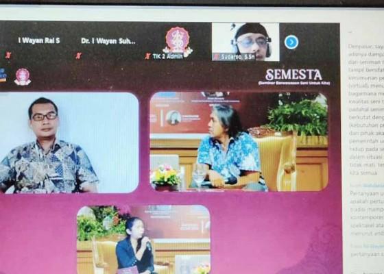 Nusabali.com - pandemi-tantangan-seni-tradisi-di-panggung-virtual