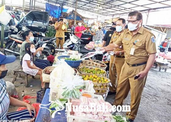 Nusabali.com - tim-tangguh-evaluasi-penerapan-prokes-covid-19-di-pasar