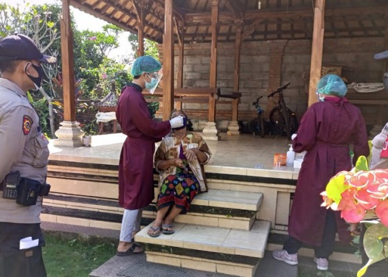 Nusabali.com - tracing-cegah-penularan-covid-19-dilakukan-di-desa-siangan-gianyar