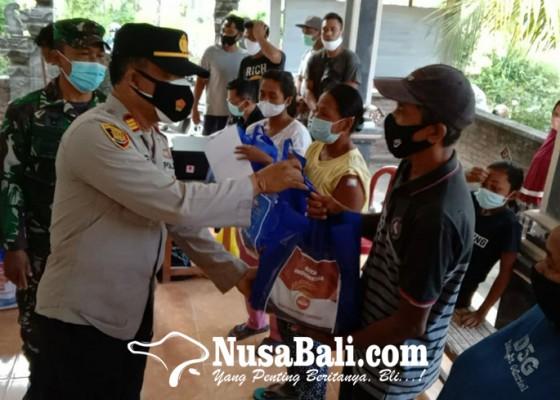 Nusabali.com - tarik-minat-warga-divaksin-5-pendaftar-pertama-dihadiahi-sembako