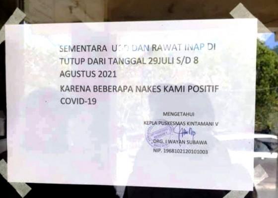 Nusabali.com - ugd-puskesmas-kintamani-v-tutup-sementara
