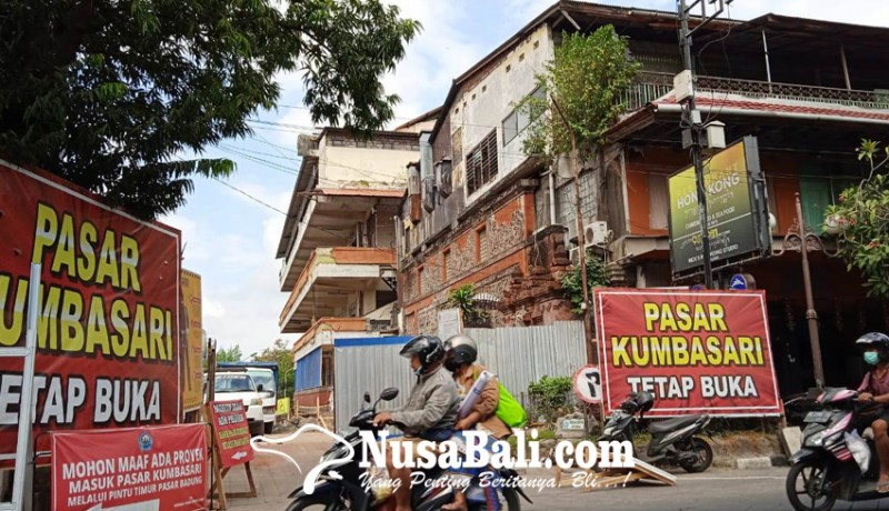 www.nusabali.com-progress-revitalisasi-pasar-kumbasari-sudah-8-persen