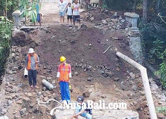 Nusabali.com - pipa-jebol-5200-pelanggan-kesulitan-air