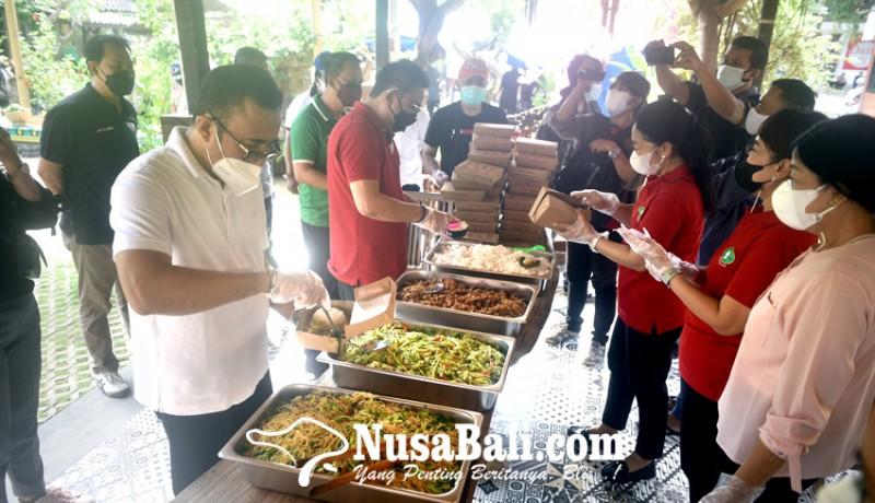 www.nusabali.com-denpasar-buka-dapur-umum-gotong-royong