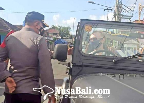 Nusabali.com - polsek-kawasan-pelabuhan-padangbai-perketat-pengawasan-ppkm