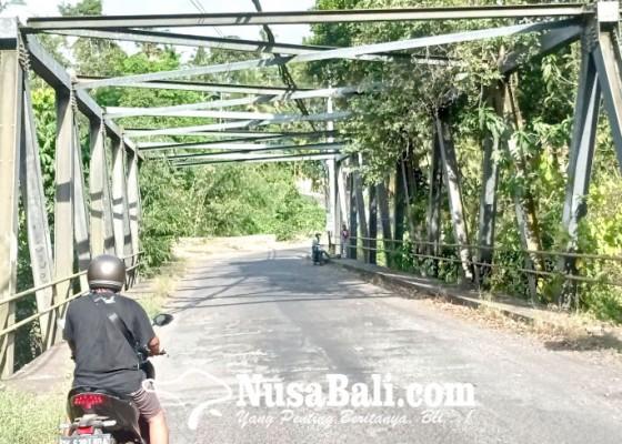 Nusabali.com - jembatan-sambangan-sangket-diproyeksi-diangkat