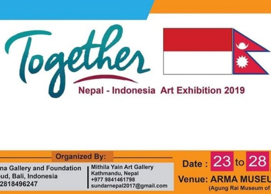 Nusabali.com - together-nepal-indonesia-art-exhibition-2019