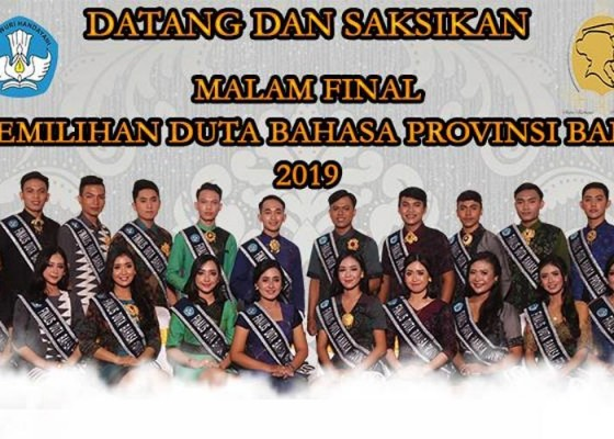 Nusabali.com - malam-penobatan-duta-bahasa-provinsi-bali-2019