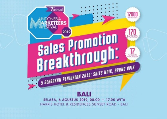Nusabali.com - indonesia-marketeers-festival-2019-sales-promotion-breakthrough