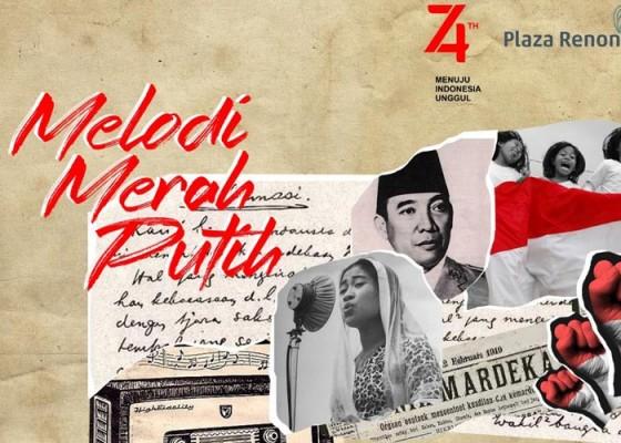 Nusabali.com - melodi-merah-putih-di-plaza-renon
