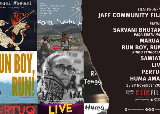 Nusabali.com - jaff-community-film-jaff2020-bali