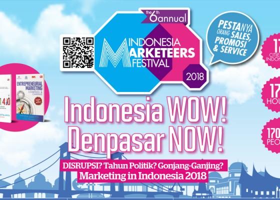 Nusabali.com - indonesia-marketeers-festival-2018-imf-2018