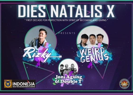 Nusabali.com - dies-natalis-x-stiki-indonesia