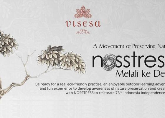 Nusabali.com - nosstress-melali-ke-desa