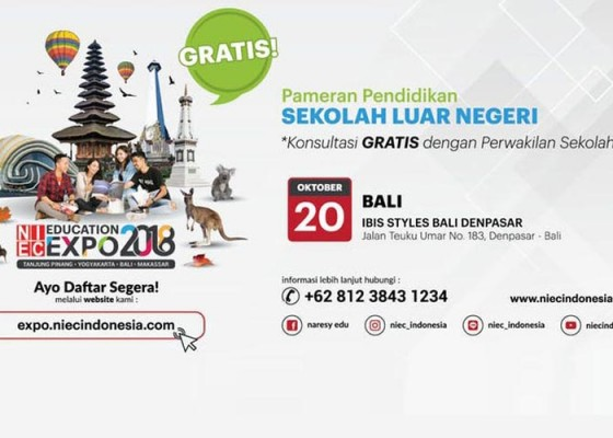 Nusabali.com - niec-education-expo-2018-bali