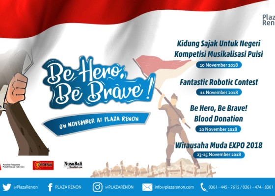 Nusabali.com - be-hero-be-brave-di-plaza-renon