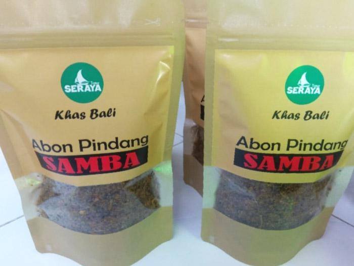 Abon Pindang Samba - Khas Bali - Senggol Bali