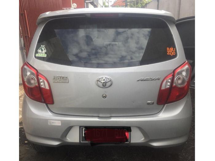Toyota Agya - AT - 2014 - Senggol Bali