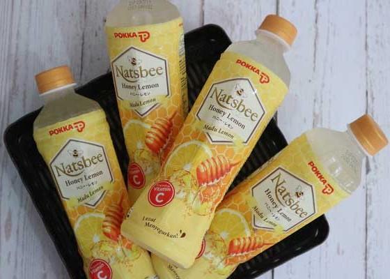Pokka Natsbee Honey Lemon 450ml - Senggol Bali
